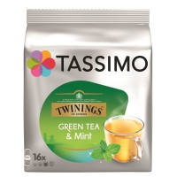Tassimo thé capsules twinings menthe pas cher
