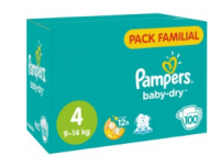 Optimisation Pampers Baby dry chez Intermarché