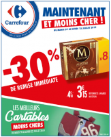 Optimisation du catalogue Carrefour du 09/07/2019 au 15/07/2019