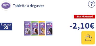 Bon de réduction Milka chocolat Ma vie en couleurs