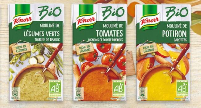 Gamme Knorr Bio moins cher